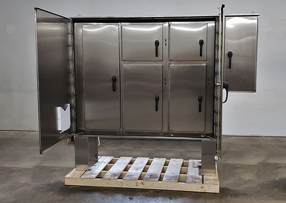 custom enclosure for arc-flash protection